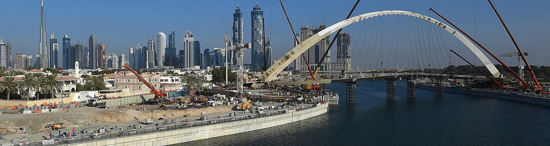 BESIX / Six Construct announces completion of Dubai Water Canal
