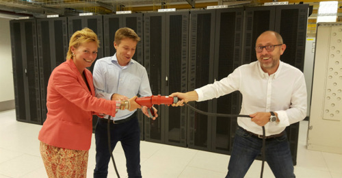 BASE anticipates a future of more data and opens new data centre