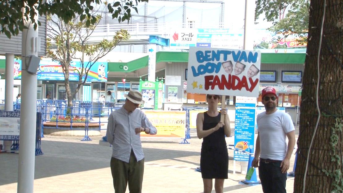 De Idioten organiseren een fandag voor Bent Van Looy... in Japan