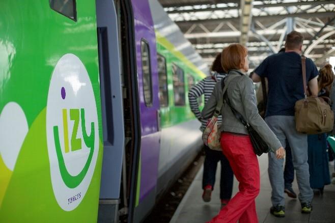 Un train IZY
