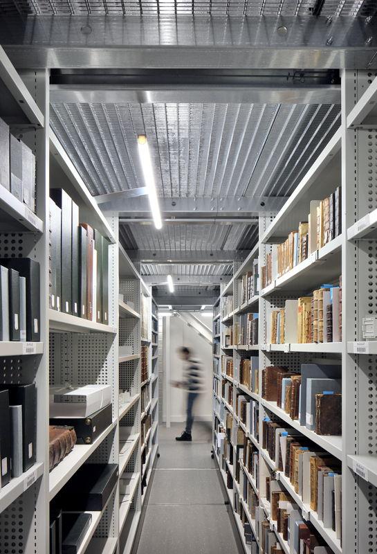 Museum Plantin-Moretus, nieuw depot, foto: Filip Dujardin