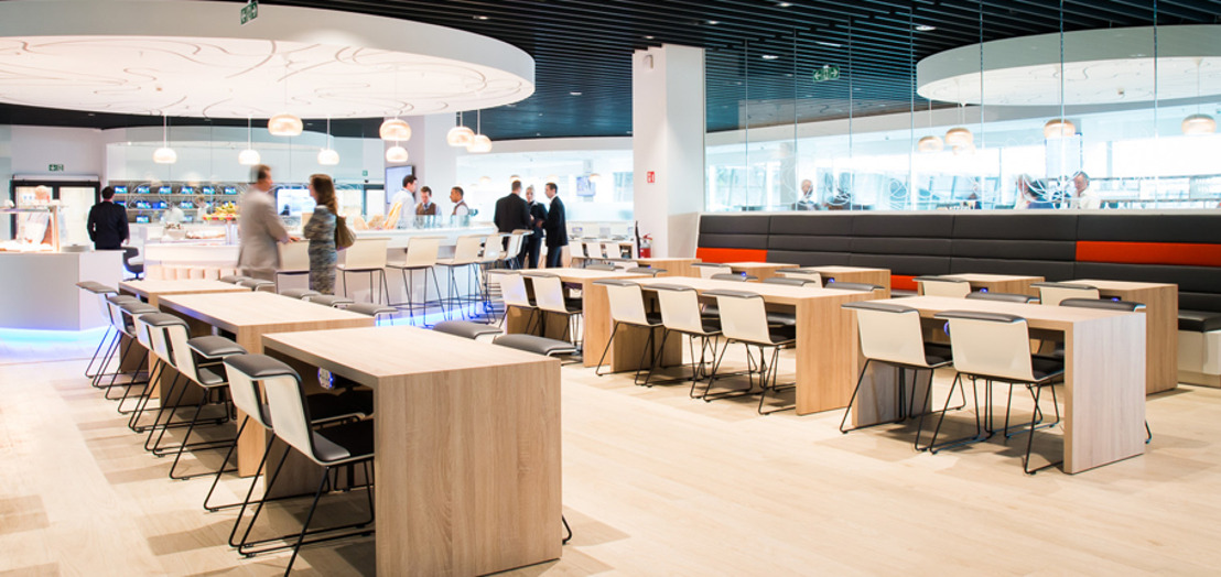 Brussels Airlines launches  unique lounge concept at Brussels Airport