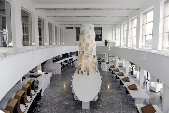 De Koninklijke Bibliotheek opent haar Krantenleeszaal na een volledige make-over