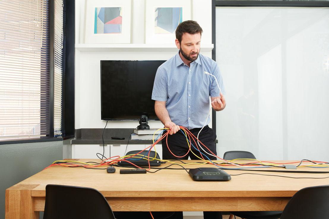 La soluciones de Logitech permiten la mejor integración entre hardware y software.