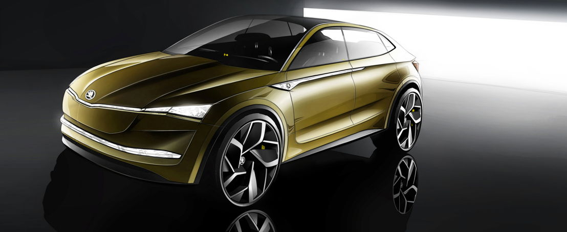 With the VISION E, ŠKODA offers a glimpse into the company's future. The concept car is the first purely electric vehicle in ŠKODA's history.
