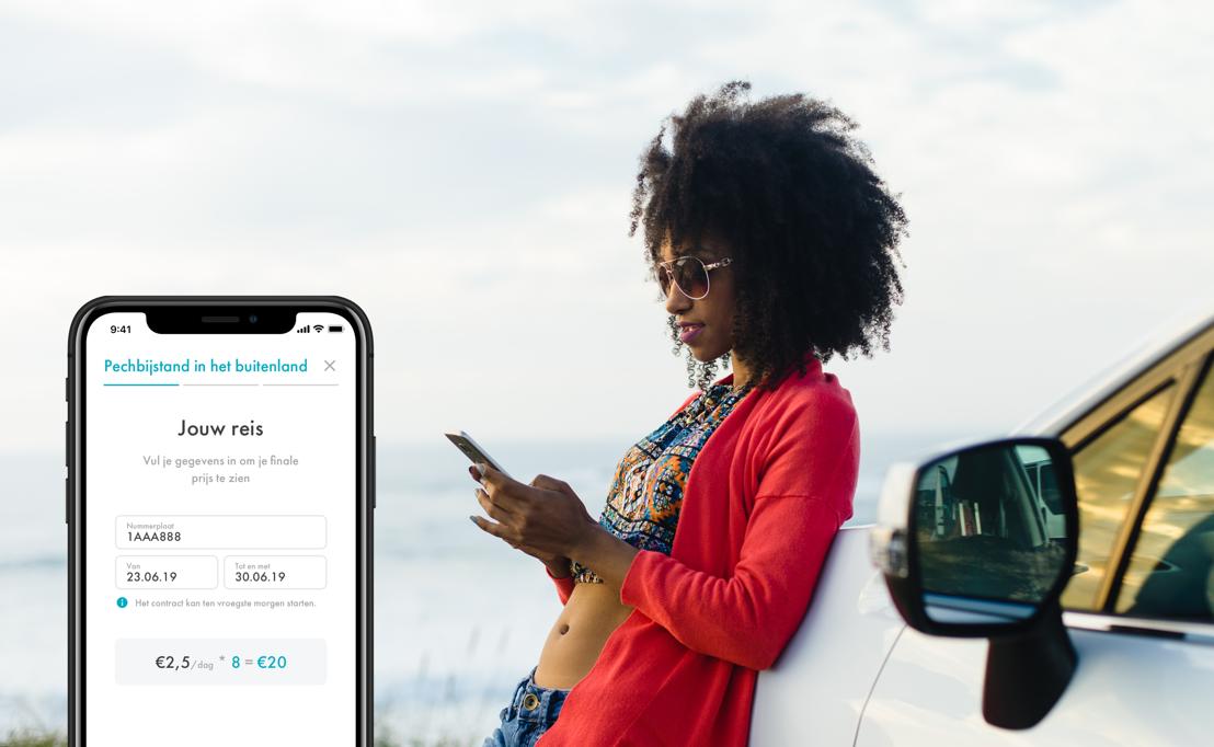 Mobly lanceert 'on-demand' pechbijstand app voor vakantietrippers