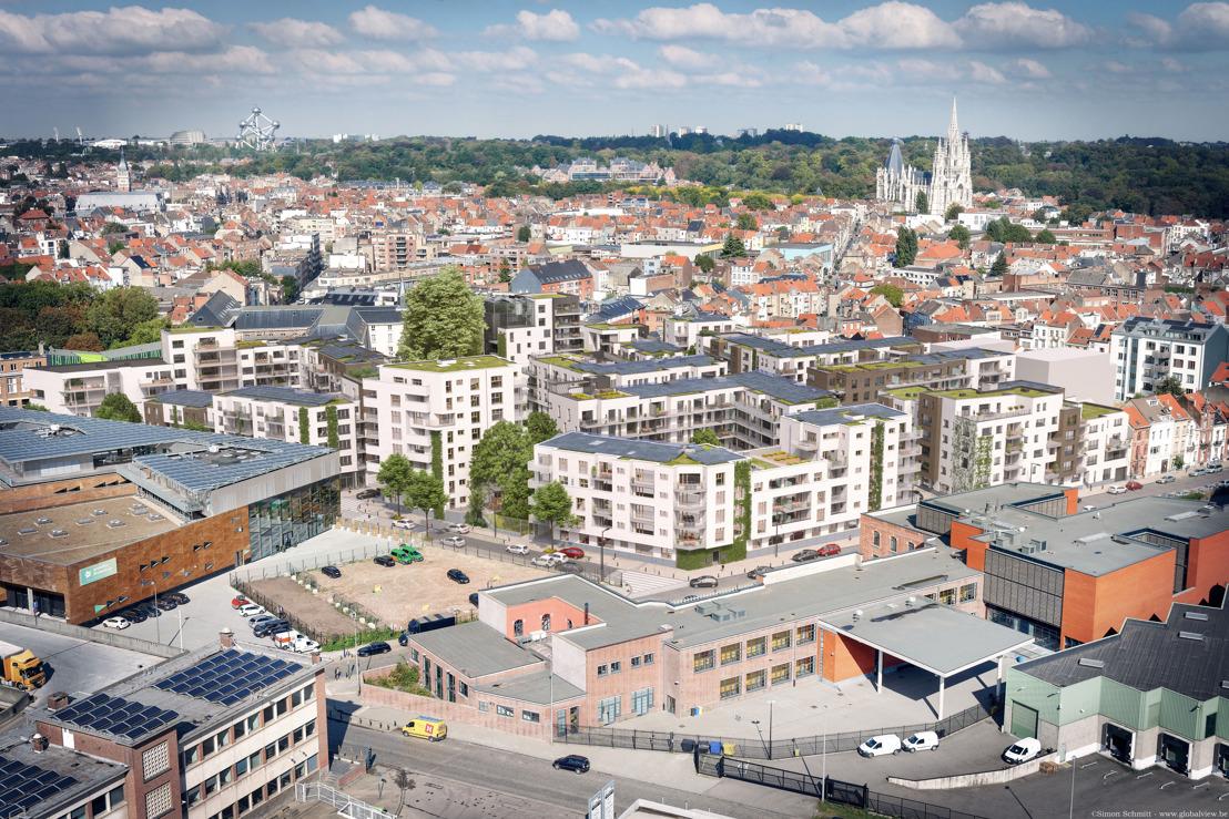 Communiqué de presse - Le projet Tivoli GreenCity de citydev.brussels remporte un Publica Award