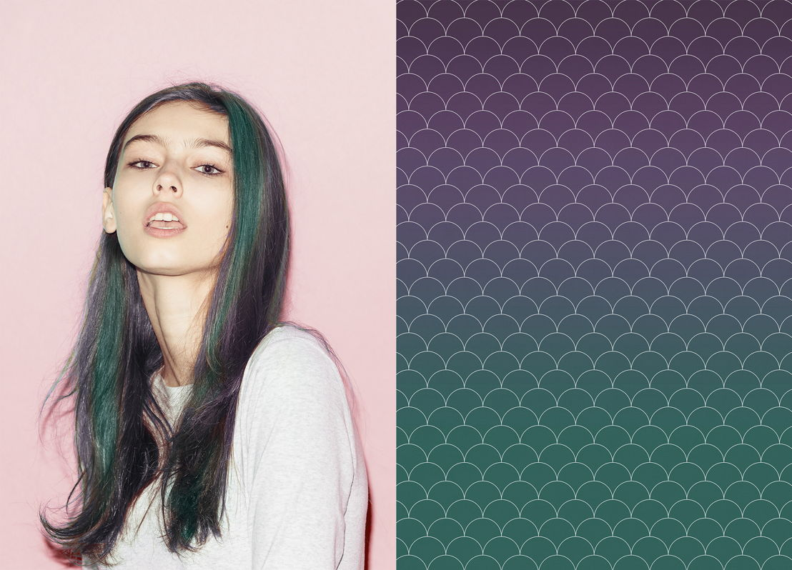 Purple Mermaid Hair + Atrafloor Design