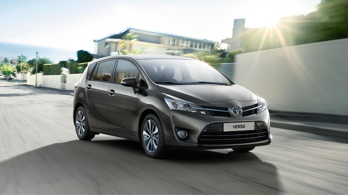 Toyota VERSO MY2017: nieuwe codes, wijzigingen en prijzen