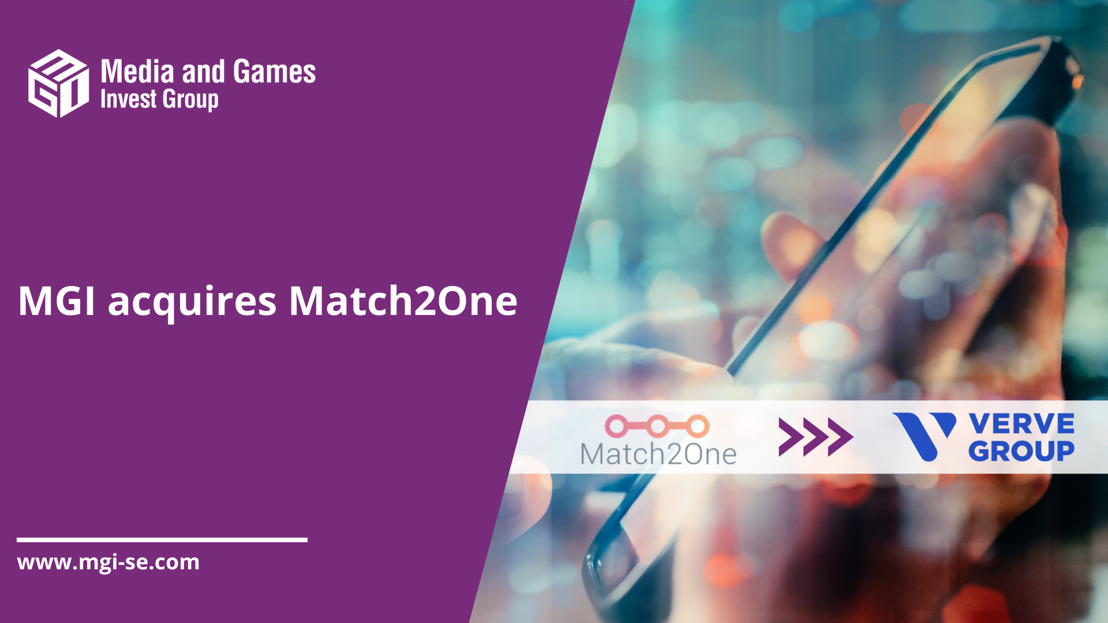 Media and Games Invest SE: Acquisition of Match2One, a Sweden based self-serve programmatic advertising platform