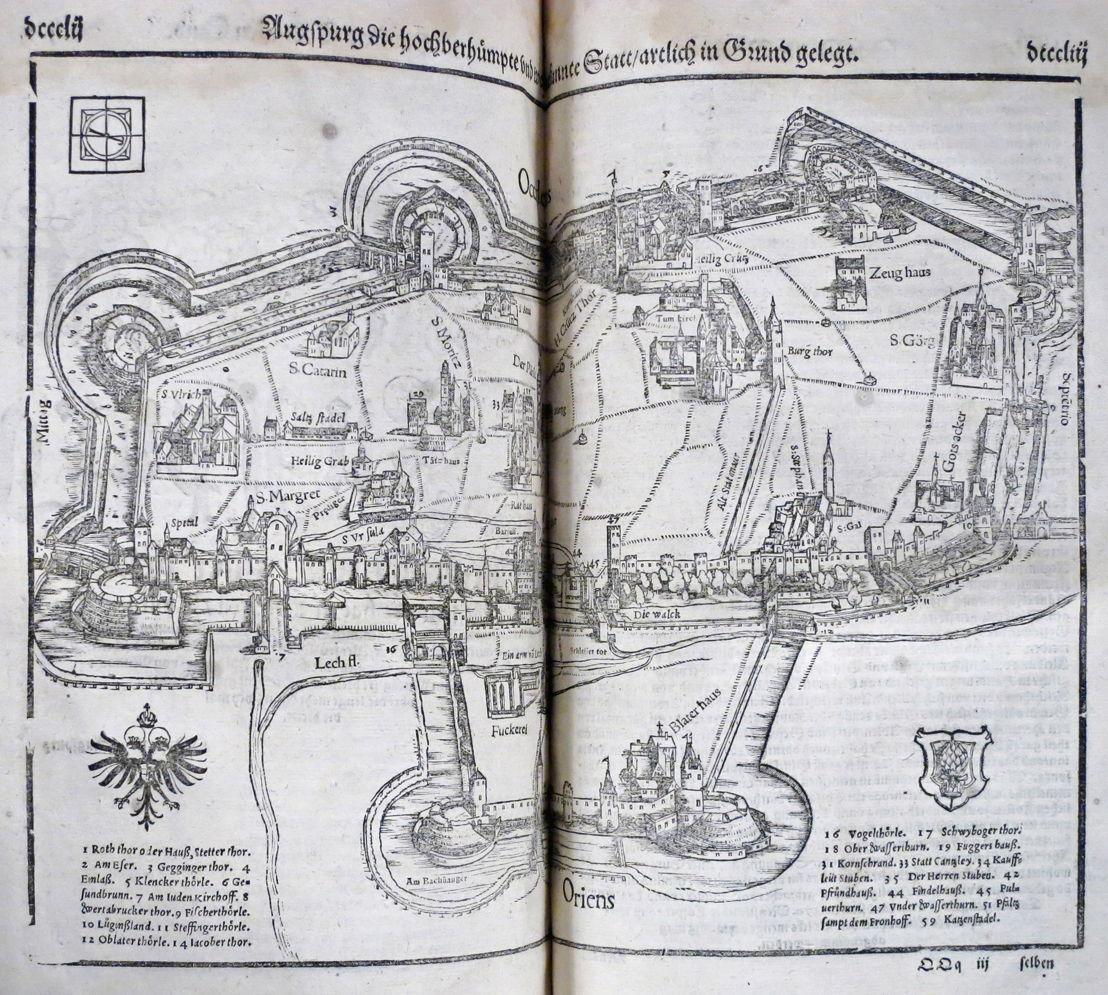 Cosmographie Sebastiaan Munster