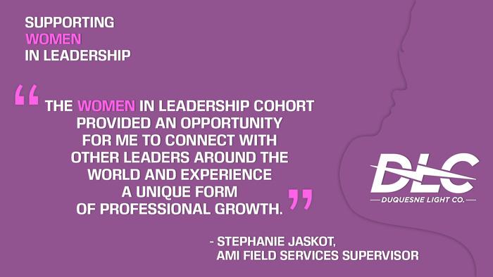 Through Professional Development Programs, Duquesne Light Company Advocates for Women in Leadership