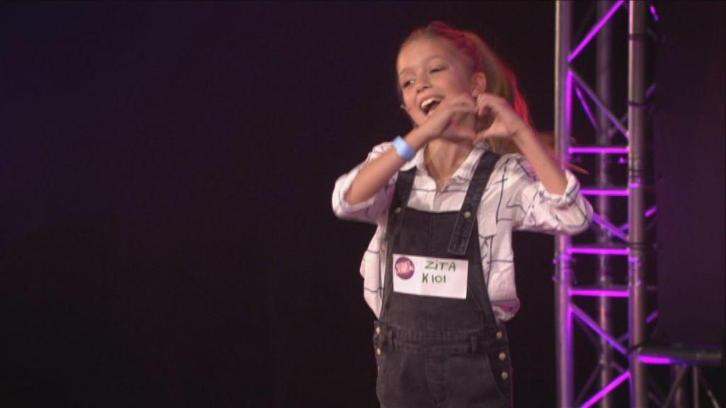 Zita Wauters in de auditie van Ketnet Musical - (c) Ketnet / Studio 100