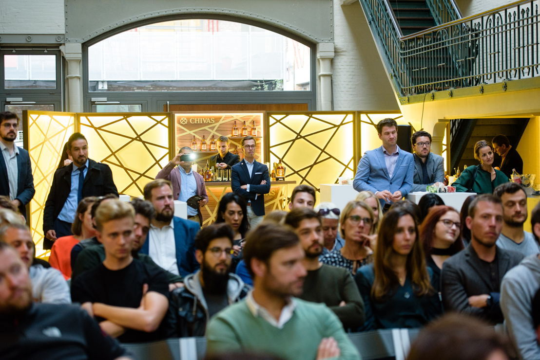 Chivas Venture lancering 2018 @ Atelier des Tanneurs Brussel