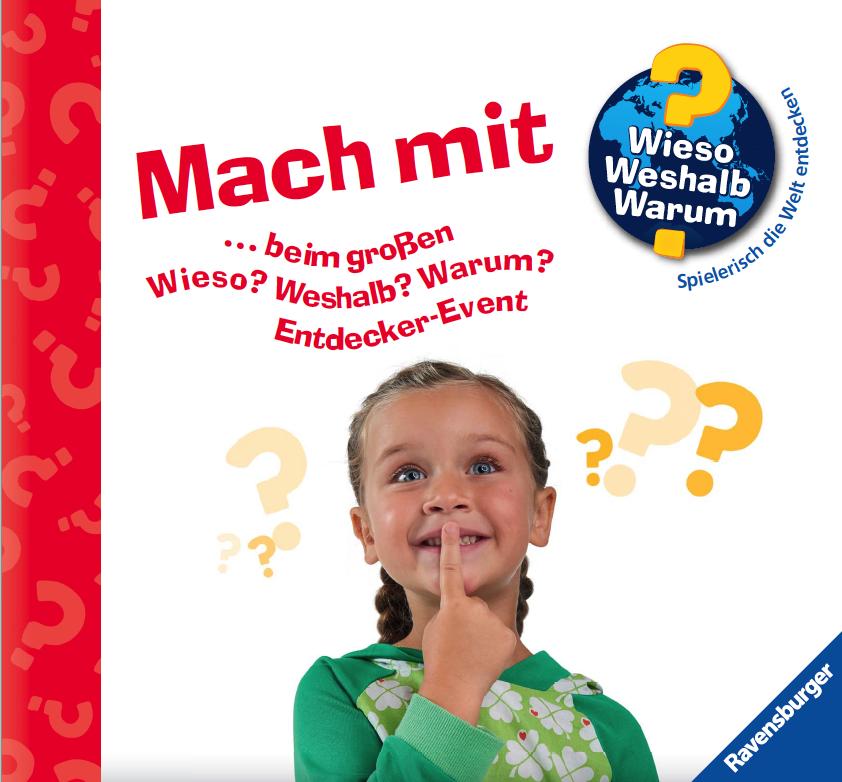 Von September bis November können kleine und große Entdecker spielerisch ihr Wissen testen. Copyright: Ravensburger