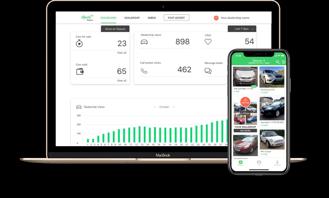 Shpock+ Motors Dashboard