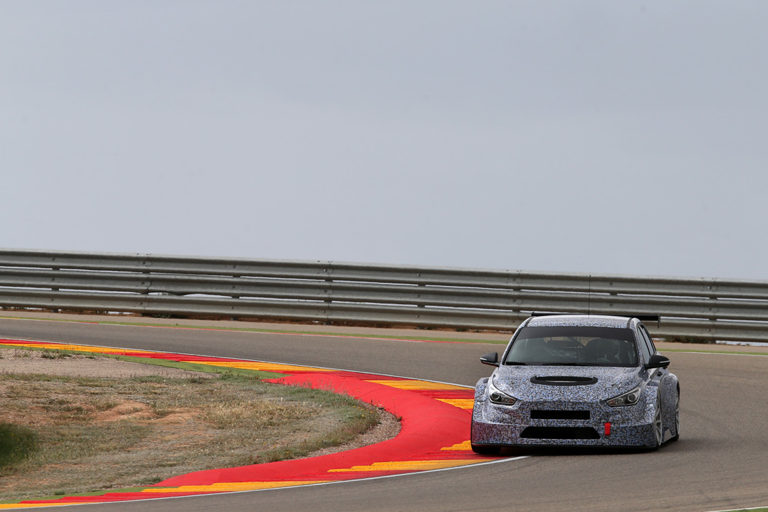 Hyundai Motorsport begin testing with the New Generation i30 TCR