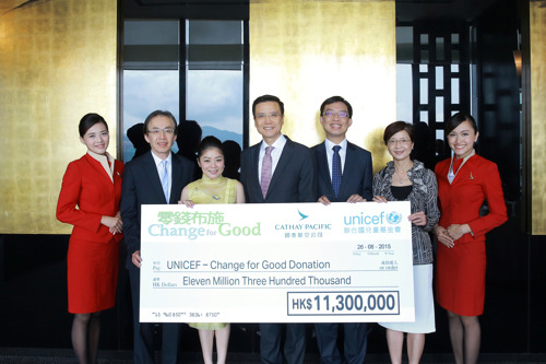 Change For Good Raises HK$11.3 Million In 2014 To Help Deprived Children Worldwide