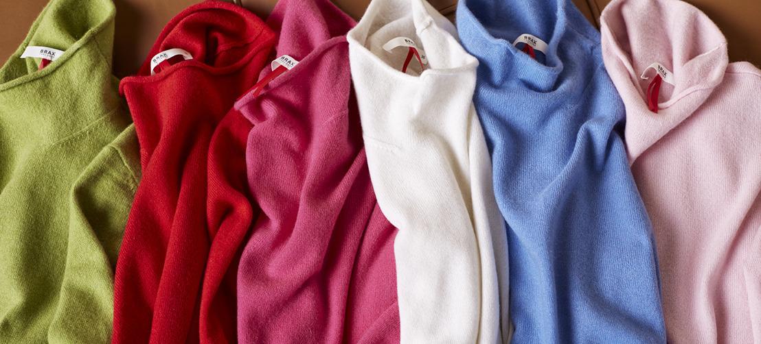 Own your colour : Luxury merino & extra fine cotton
