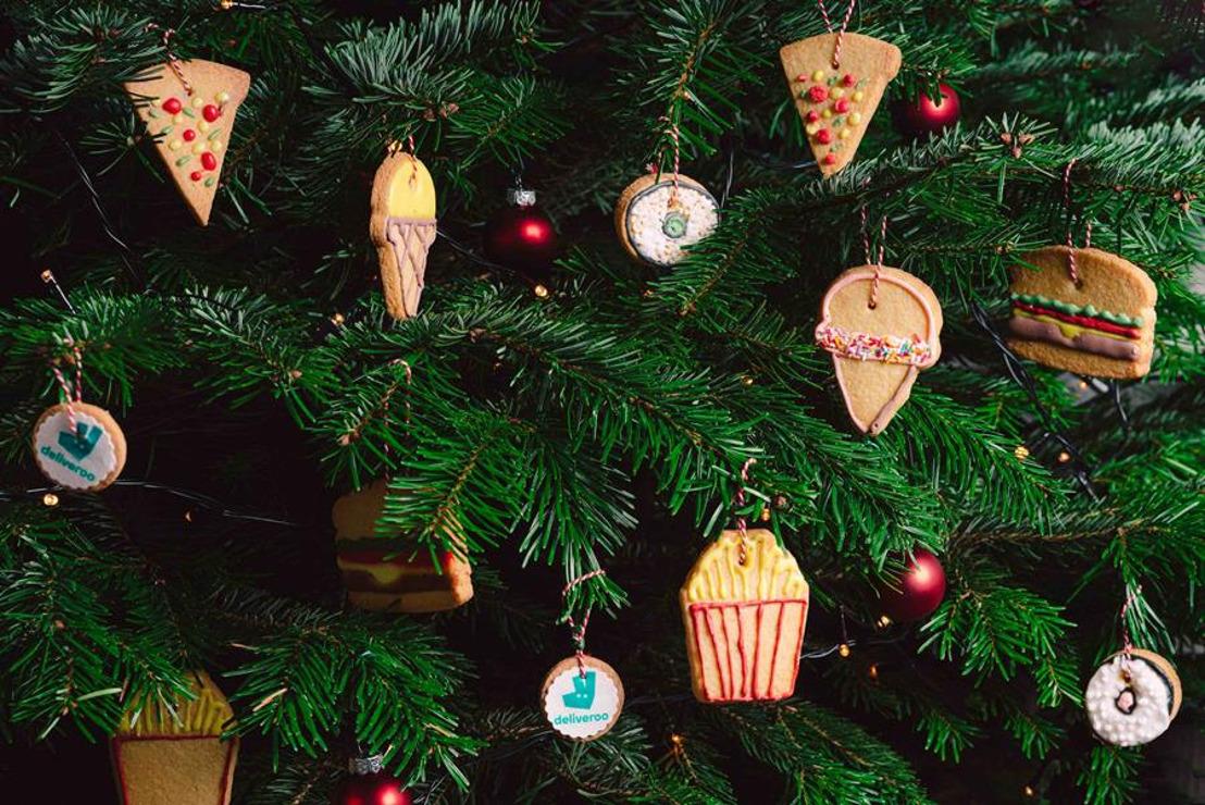 Deliveroo lanceert 5 must-have kerstballen én ze zijn eetbaar!