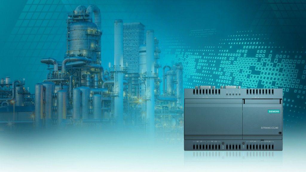 Siemens presenteert de Sitrans CloudConnect 240: een nieuwe IoT-gateway voor de procesindustrie. Deze biedt een extra gegevenskanaal, volledig onafhankelijk van het besturingssysteem, dat wordt gebruikt om gegevens van alle HART®-gebaseerde veldapparaten naar de IT-wereld te verzenden.