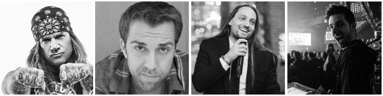 Stix Zadinia, J.T. Arbogast, Jason Lekberg and Nick Rucker (from left to right) will answer your questions on virtual concert planning, production and promotion