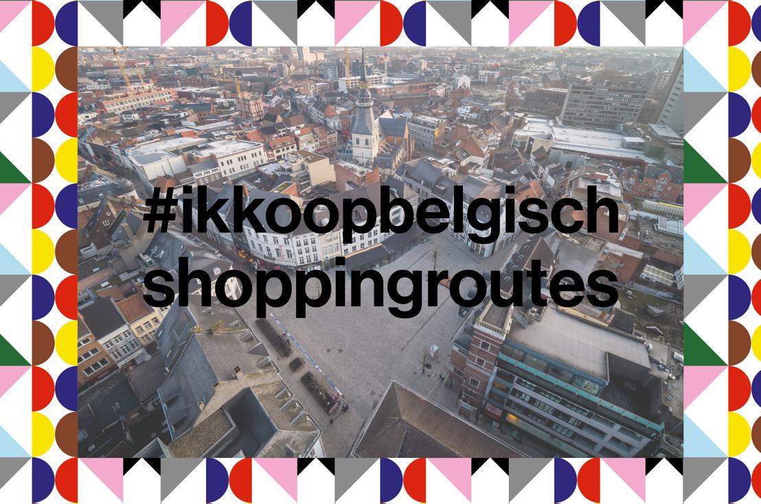 Een dagje lokaal shoppen wordt nog leuker met de #ikkoopbelgisch shoppingroutes