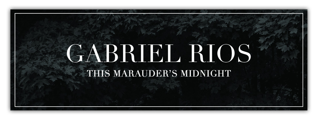Gabriel Rios - Mini-Gigs & Release Event