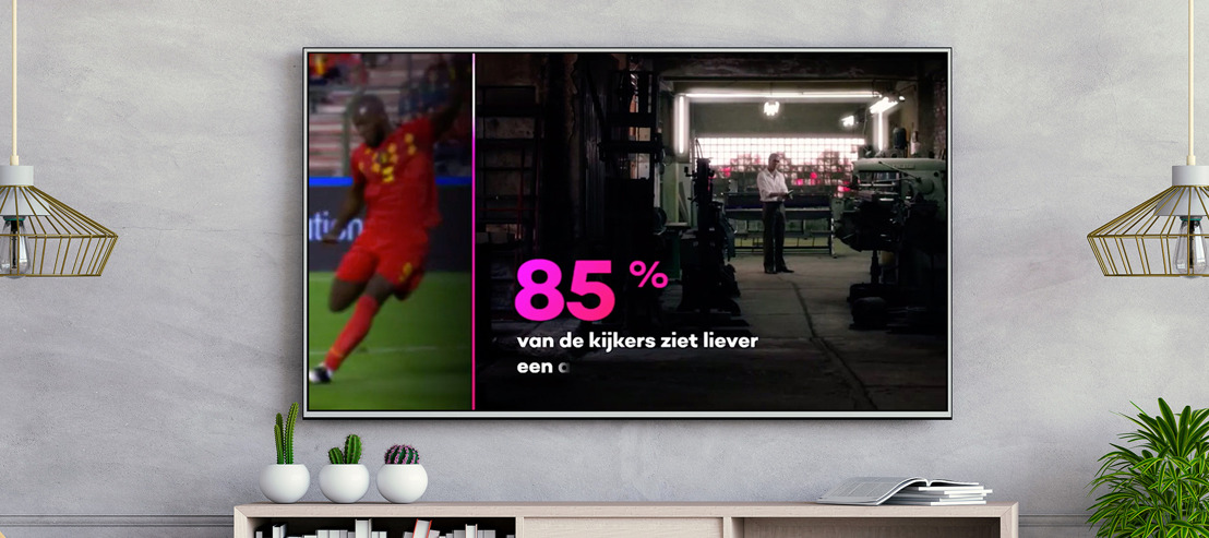 DDB takes over your TV screen for VTM GO