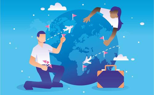 6 op 10 Brusselse werkzoekenden wil in het buitenland werkervaring opdoen