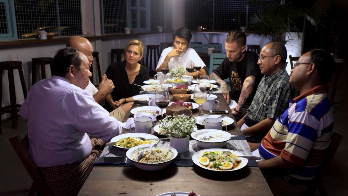 Vranckx - Alles op tafel: Myanmar - (c) The Travel Channel