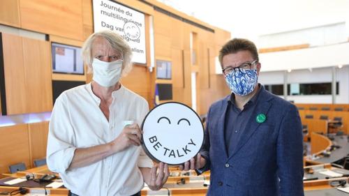 Minister Sven Gatz lanceert eerste Brusselse Dag van de Meertaligheid