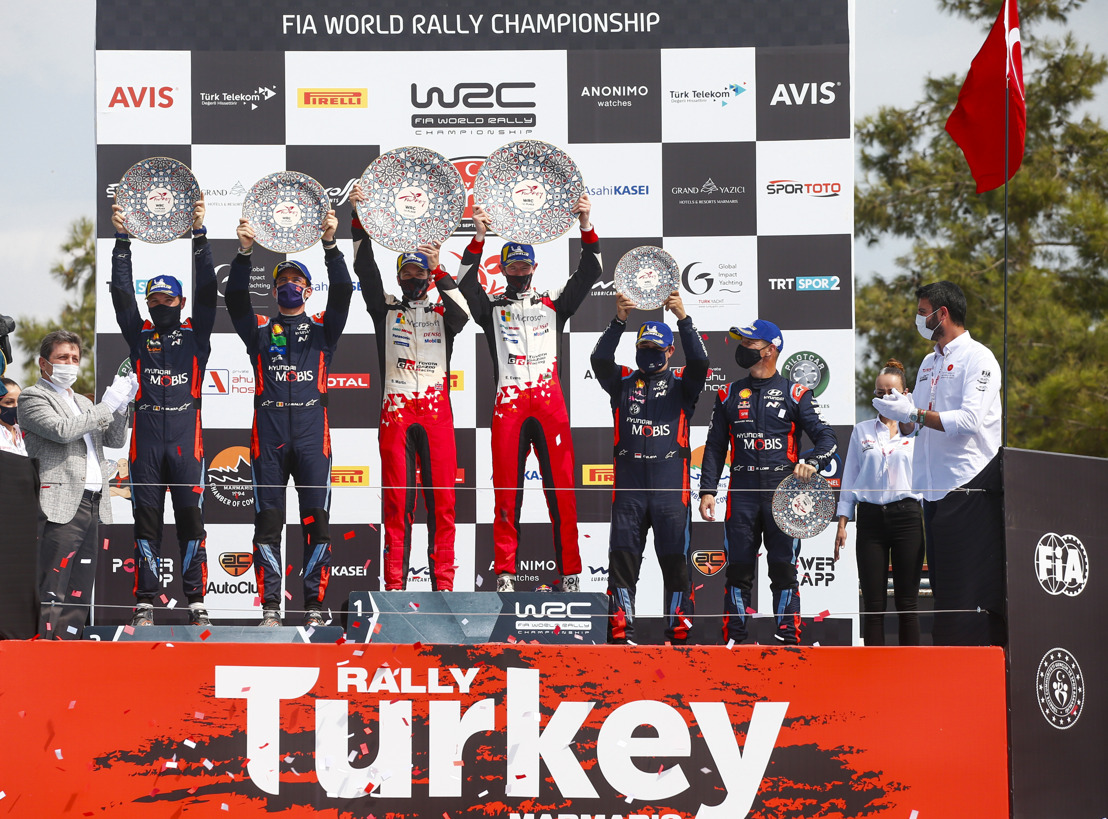 WRC Rally Turkey - Evans claims victory for TOYOTA GAZOO Racing on a turbulent final day