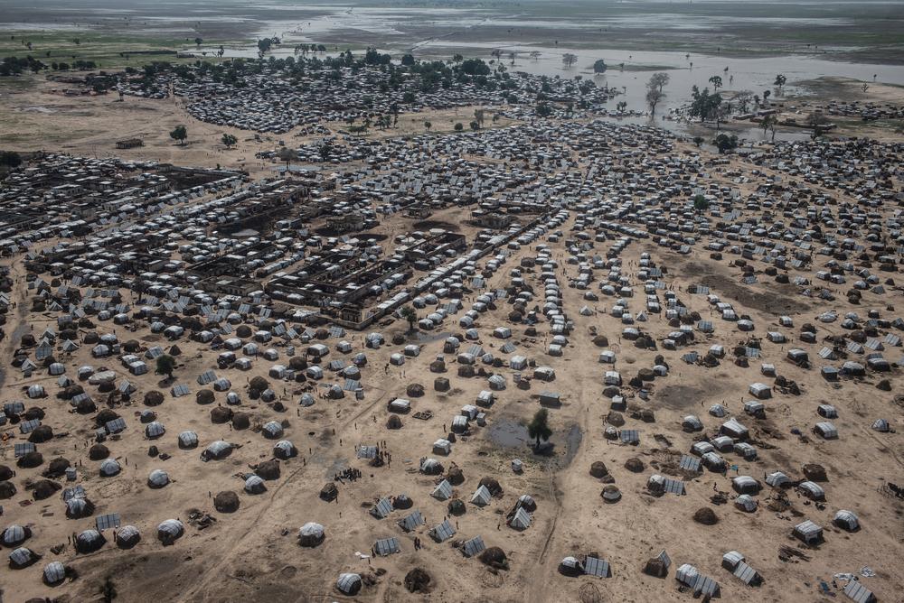 Aerial view of Rann. Photographer: Sylvain Cherkaoui/COSMOS