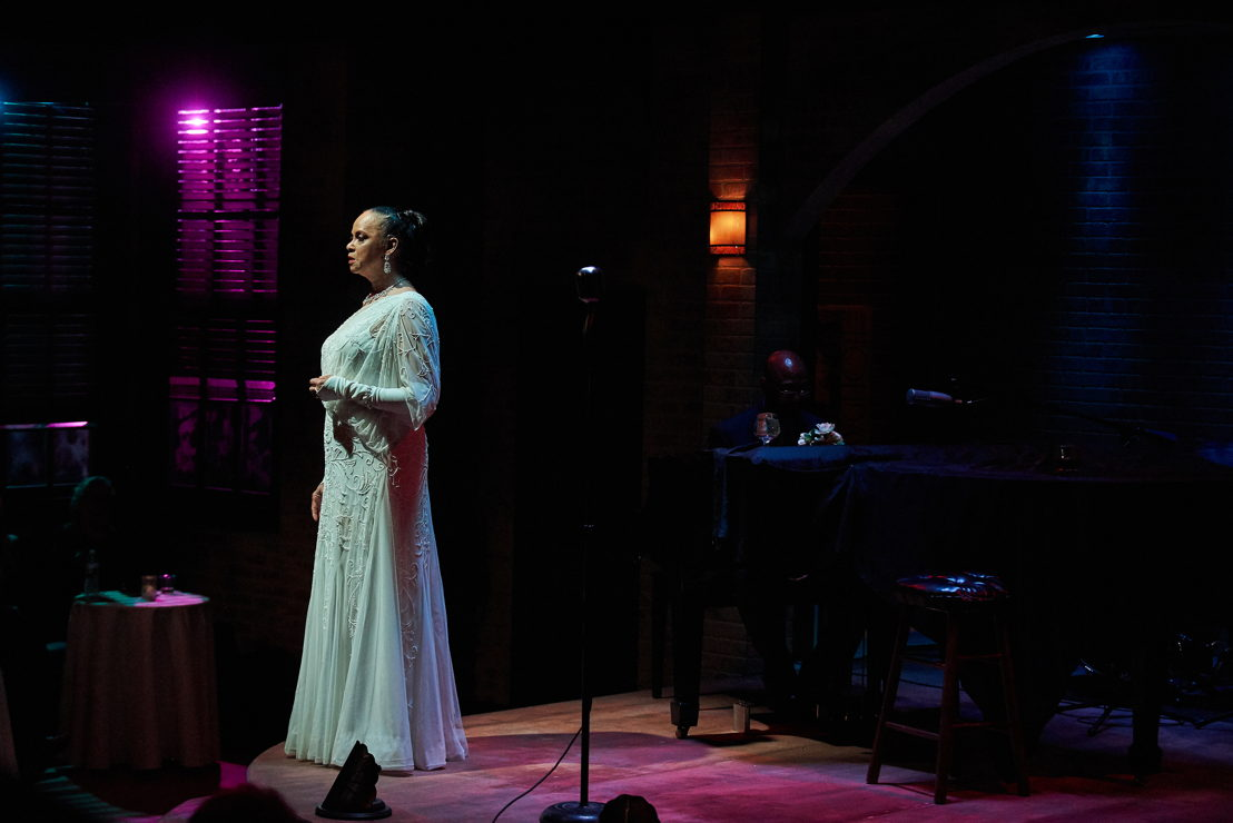 4. Terry Burrell (Billie Holiday) in LADY DAY (photo by Christopher Bartelski)