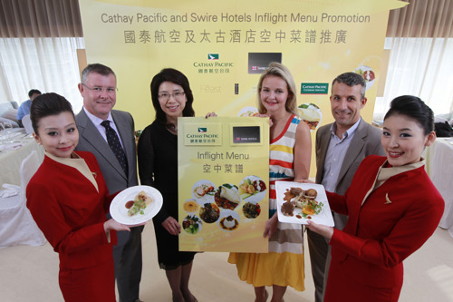 Cathay Pacific partners with Swire Hotels to launch new inflight menu promotion