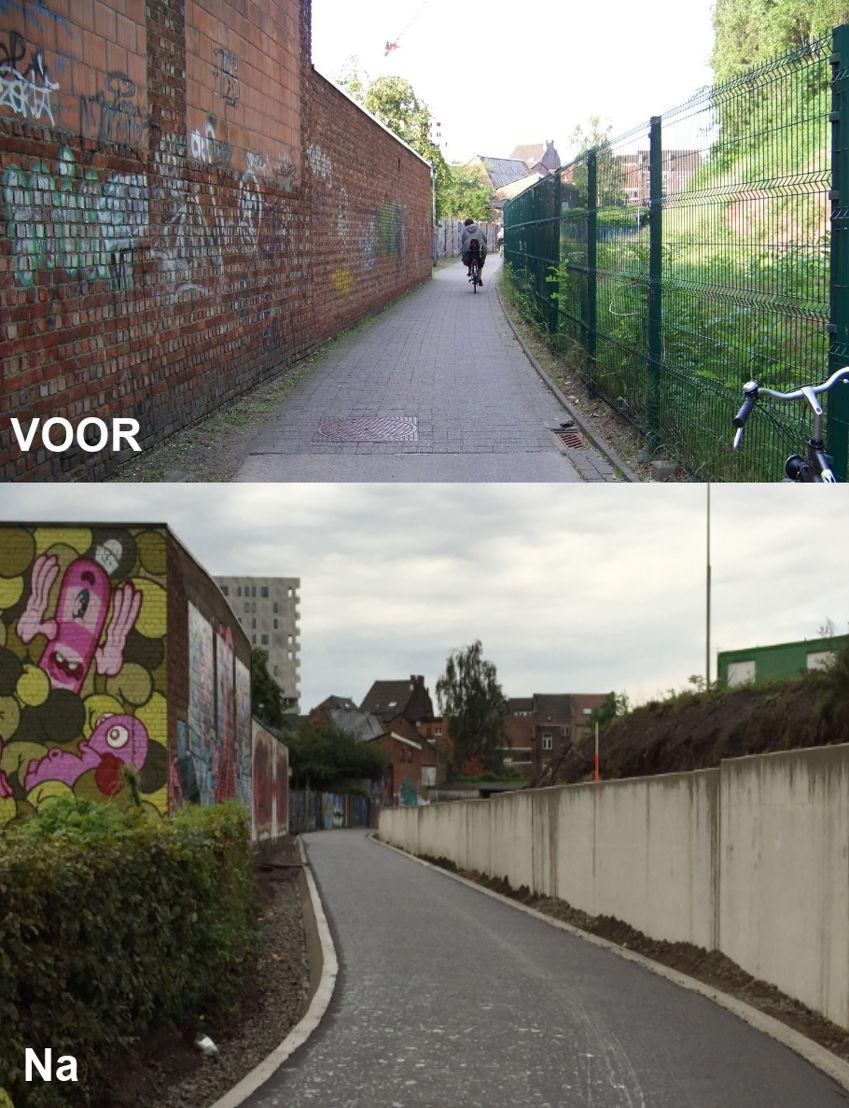 Brugbergpad voor/na Leuven