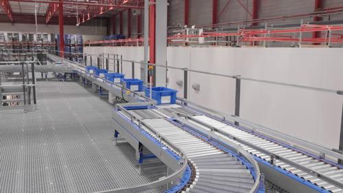 Preview: Le nouveau centre de distribution e-commerce de Carrefour Belgique est opérationnel