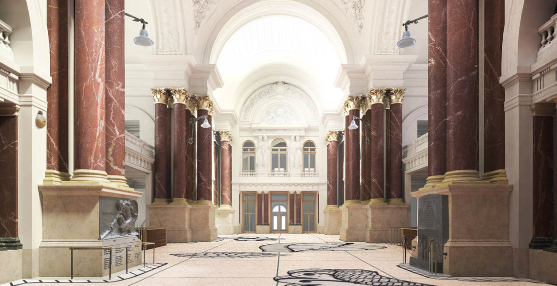 Brussels Gewest investeert 5,5 miljoen in renovatie van geklasseerd Beursgebouw