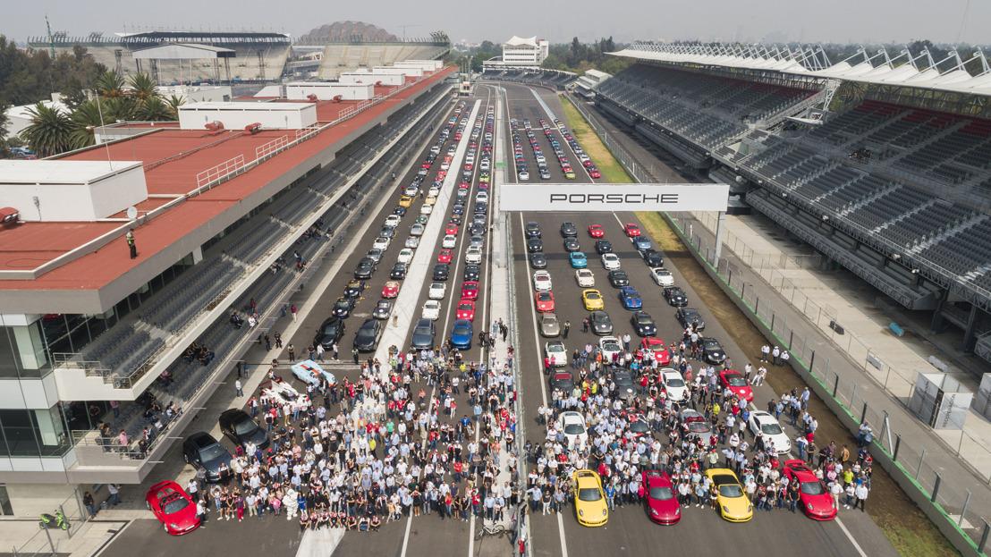 México también celebró los 70 años de autos deportivos Porsche