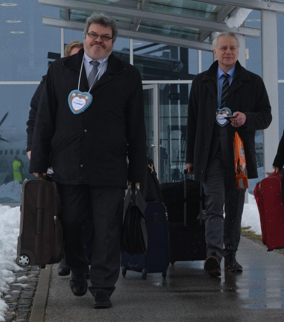 Boris Bobek, Maribor Aerodrom, & Carl Runge, COO VLM Airlines