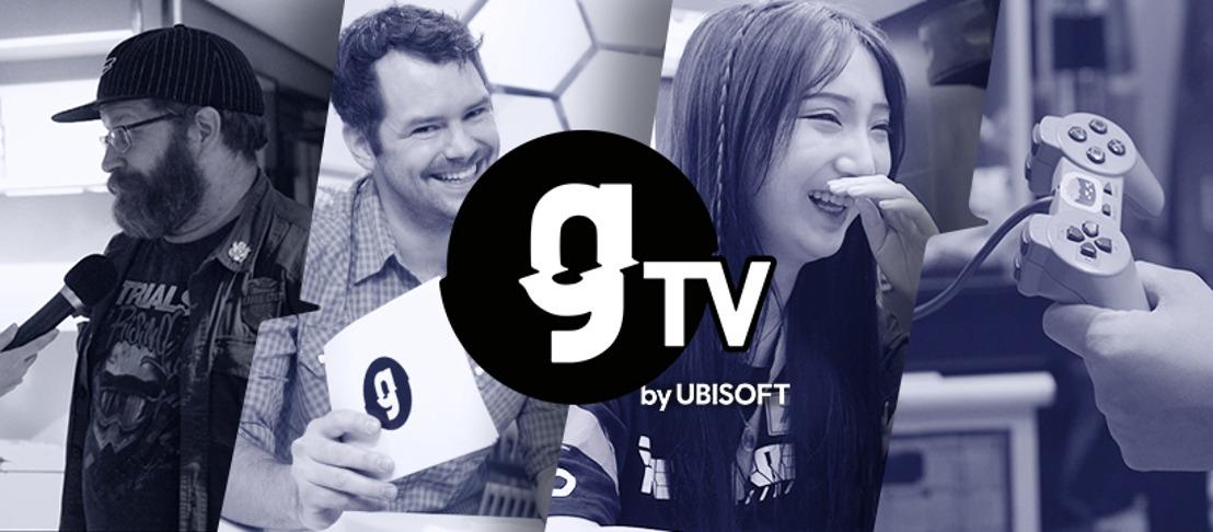 UBISOFT FEIERT MIT DEM START DES NEUEN VIDEO-KANALS gTV BY UBISOFT DIE WELT DER VIDEOSPIELE