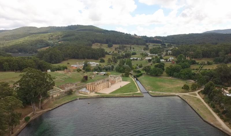 Aerial Port Arthur