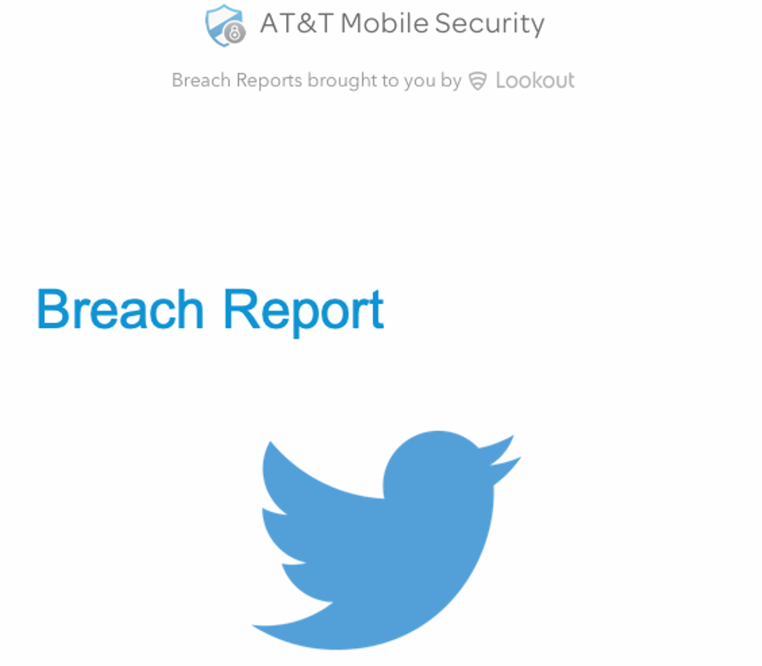AT&T: Breach Report