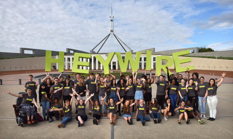 HEYWIRE Youth Summit members