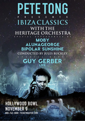 Moby, AlunaGeorge and Bipolar Sunshine join Pete Tong, Jules Buckley + the Heritage Orchestra at the Hollywood Bowl