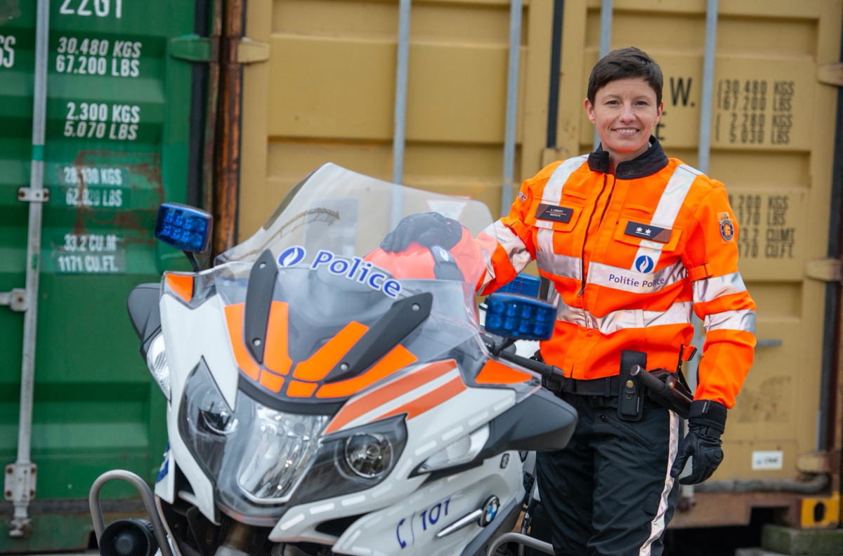 Sofie Lenaerts (c) Christian Berteaux/ DSI Police/Politie