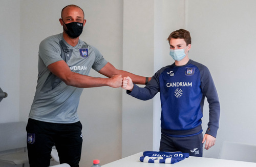 Kristian Arnstad is staying a little longer at RSCA