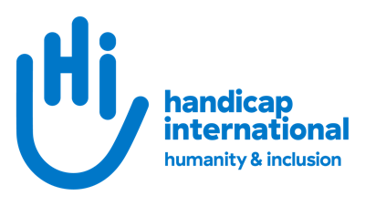 Handicap International espace presse Logo