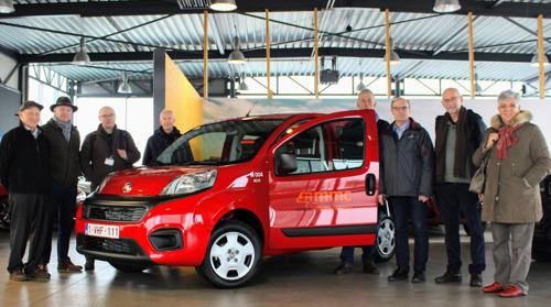 Twee nieuwe CNG-wagens vzw voor Meer Mobiel Leuven